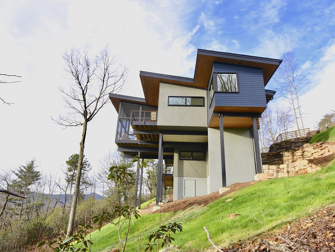 Black mountain residence atlanta design festival for Atlanta residential architects