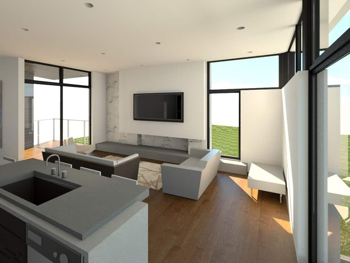 Modern style house 2 atlanta design festival design for Atlanta residential architects